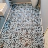 FLOORZ- Portugese badkamer Blue Autumn