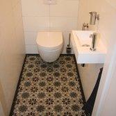 Floorz Portugese cementtegels badkamer