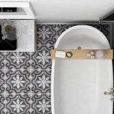 FLOORZ-Portugese tegels badkamer