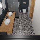 FLOORZ- Portugese tegels badkamer ARLES 01