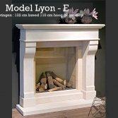 France Artisanat natuurstenen schouw Lyon E
