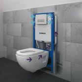 Geberit DuoFresh inbouwreservoir toilet