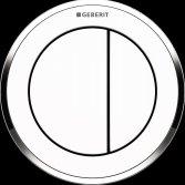 Geberit ronde spoelknop Type 01 en 10