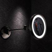 Badkameraccessoires in mat zwart | Geesa