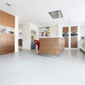 Gietvloer in Keuken