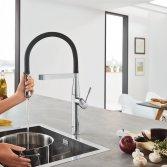 Keukenkraan met minimalistische stijl