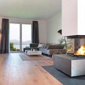 Heat haard voor goed geïsoleerde woning