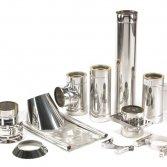 Holetherm RVS rookgasafvoerkanaal