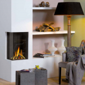 Compacte gesloten gasinbouwhaard | Home Fire