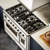 Fornuis met aanpasbare kookplaat   ILVE