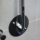 Inbouwdouche minimalistisch - Roll-in shower