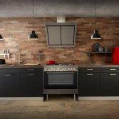 Industriële keuken Brooklyn Brick