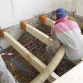 Vloerisolatie bij renovatie   Isoschelp
