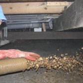Isoschelp vloerisolatie met schelpen