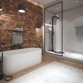 Badkamer met industriële look | JEE-O