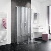 Kermi halfronde doucheschermen
