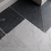 Kersbergen Marmer vloer Bianco Carrara