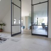 Vloer met bourgondische dallen | Kersbergen
