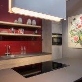 Keuken met kleur