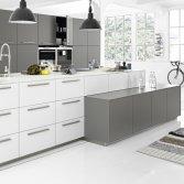 Logic kitchen wit/grijs
