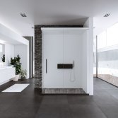 Cabine met walk in shower | Kinedo
