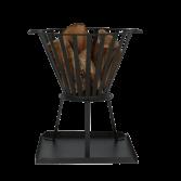 Klassiek model vuurkorf met opvangplaat Oyo | Livin' Flame