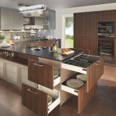 Keuken met veel bergruimte