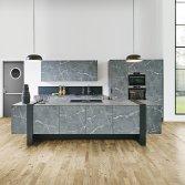 Keuken met marmerlook| Kuhlmann Keukens