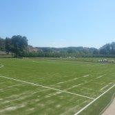 Kunstgras voor voetbal en speelveld