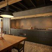 Landelijke keuken Black Cottage