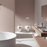 Badkamer keramiek met ronde vorm
