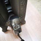 Gietijzeren elektrische artdeco radiator | Laurens Radiatoren