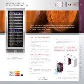 Le Chai LB1100 Wijnklimaatkast met 2 temperaturen voor 110 flessen