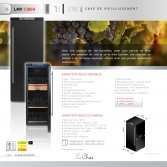 Le Chai Wijnbewaarkast de luxe 138 flessen Energielabel A+