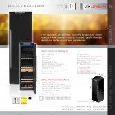 Le Chai LMV2370HD Luxe wijnbewaarkast 237 flessen Energielabel A+