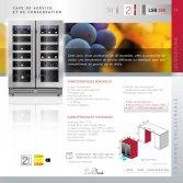 Le Chai LSB380 Side by Side onder werkblad-Wijnklimaatkast 38 flessen