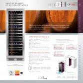 Le Chai LT1430 Wijnklimaatkast 3 temperatuurzones voor 143 flessen