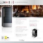 Le Chai LB590X Wijnklimaatkast met 2 temperatuurzones