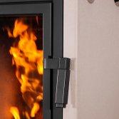 Slanke accumulerende houtkachel Warne | Leenders Haardkachels