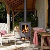 Livin' flame houtkachel Gotland
