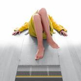Vloerverwarming voor houten vloeren