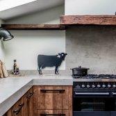 Mereno landelijke houten keuken Worchester oud hout