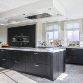 Mereno Milano Keuken zwart eiken fineer