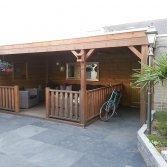Luxe veranda | MG Houtbouw