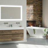 De badkamer in terracotta stijl | MijnBAD