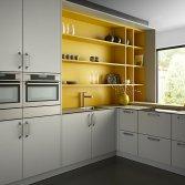 Modern Industriele keuken Touch of Gold