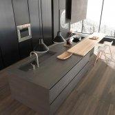 Modulnova keuken met een Blade kookeiland