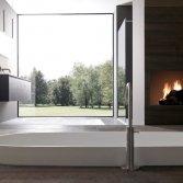 Licht badmeubel van aluminium | Modulnova
