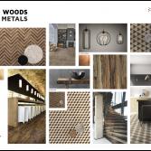 Moodboard Wild Woods & Metals