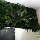 Junglewand in de badkamer | Moswens